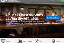 Wealthy affiliate / Earn a living on line