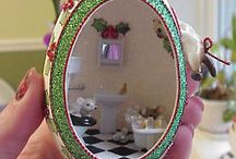 Goose Egg Diorama