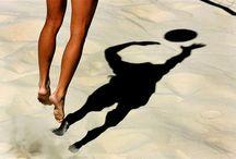 Beach Volleyball / Diese Bilder sollen zum regelmäßigen Training animieren!