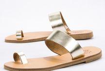Flat Greek Leather Sandals