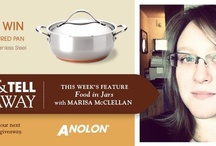 Cook & Tell  / Each week, one of our favorite food bloggers is telling us about their blog, the food they love, and the Anolon pan they love to cook it in.