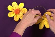 Jak zrobić kwiaty,kokardki