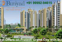 Prateek Grand City Ghaziabad / Prateek grand city ghaziabad offers premium 2 and 3 bhk apartments.