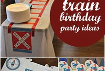 Train birthday party / by Casey Stoll