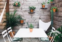 The Secret Garden / Inspiration tips and ideas for your outdoor oasis!