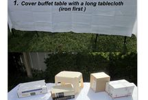 table parties setting
