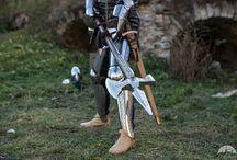 medieval decorative weapon