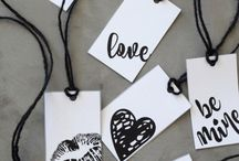 love cards gift tags etc