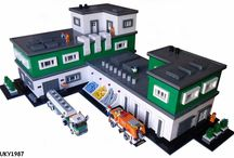 Lego Manufacture & Production Buildings