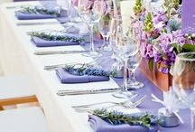 table decor purple