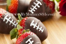 "Healthy Game Day Snacks / Healthy snacks (okay, some are ""healthier"") for watching the game - superbowl, Grey cup, etc"