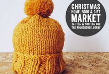 Derbyshire Christmas Home, Food & Gift Market / Back for a 7th year, the Christmas Market is a fabulous event with over 100 hand selected stallholders, Tea Room & Prosecco Bar.  Sat 12th & Sun 13th November, The Roundhouse, Derby. http://derbyshirechristmasmarket.co.uk/