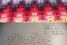 Háčkování - vzory, motivy
