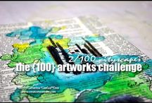 The 100 artworks challenge / by CeeCee's Creations