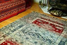 vintage rug jacquard