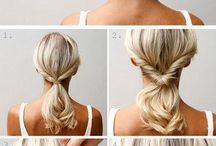 Hair style and make up