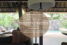Kayumanis Private Villas Bali / Der Name Kayumanis Bali steht für Exklusivität und Privatsphäre unter den Boutique Hotels in Indonesien. Alle drei Kayumanis in Nusa Dua, Jimbaran und Ubud sowie das Gangsa Sanur kennen wir persönlich. ✔ Nusa Dua für Sie zuletzt besucht 2013, Ubud und Jimbaran im Okt. 2014. ✔ http://j.mp/kayumanis-villas