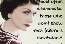 Leadership Quotes / This is a collection of my favorite leadership quotes - they just happen to all be from women - I'm just trying to balance the voice... you may well notice that most of the quotes you see around the place are all attributed to men...