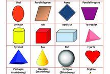geometriska former