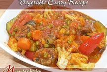 Vegetable Curry / Gravy / Learn how to make delicious Indian Vegetarian Curry / Gravy Dishes from Manjula's Kitchen