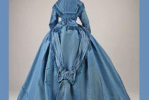 Dresses: 1840-1880 Victorian, Crinolines