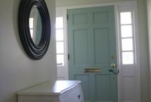 Design Ideas: Front door/Foyer Entry / by Dawn McDougald