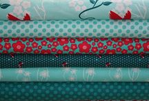 Mad about Aqua and Red / These are our favorite colors, we think they compliment each other and work together beautifully / by Florrie Marie