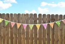 Fabric Pennant Banners