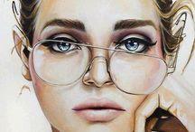 acrylic paintings - inspiration
