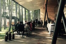 Rustic wedding and ceremony