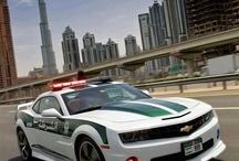 Coches policiales / Coches utilizados por policías de todos los paises