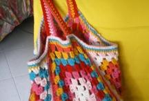 Crochet ~ Purse/Bags/Sleeves / by Cindy Valdez Salgado