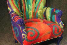 Fotele / Kolorowe fotele