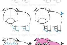 idéer til at tegne