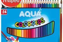 Tipos e Marcas de lápis de cor