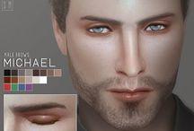 ts4 cc Facial Hair