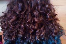 Color / Color en el cabello. Tintes, mechas efectos de color.