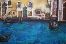 Venice - Mural Painting / Murals of Venice created for my clients