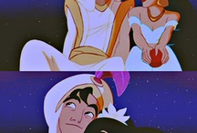 Aladdin and Jasmin