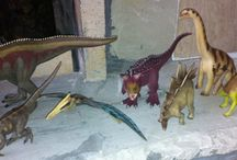 Dinosaur Models etc. / Pictures of dinosaur and prehistoric animal collections.