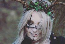★ Maquillage : Vagues d'inspirations / Photographies d'inspirations pour le make-up.
