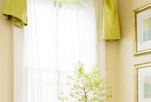 window treatment ideas / by Ruth Young