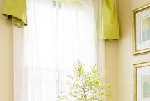 Window treatments / by Kara Coates