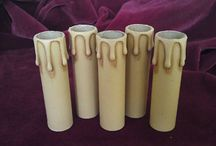 Chandelier candle tube covers / All colours and sizes of Chandelier candle tube covers