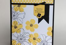 Floral card idea