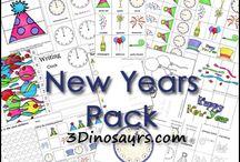 New Years Theme