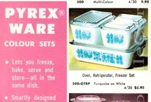 Pyrex / A collection of awesome Pyrex pieces and Pyrex displays.