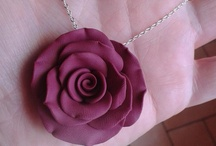 Rose in fimo