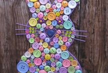 Easter buttons / Fun Easter crafts, art, jewelry, and more! / by Hot Button