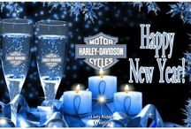 New Year Harley Davidson